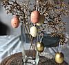 Набір яєць для пасхального декору 6шт * 5 см