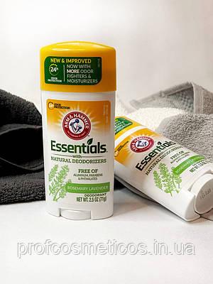 Натуральний дезодорант, свіжий розмарин і лаванда Essentials Arm & Hammer, 71g
