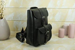 """Жіночий Рюкзак """"Джун"""", шкіра Італійський Краст, колір Кава, фото 2"""
