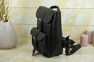 """Жіночий Рюкзак """"Джун"""", шкіра Італійський Краст, колір Кава, фото 3"""