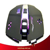 Ігрова мишка GAMING MOUSE X1 - провідна миша з LED з підсвічуванням 4800 dpi (R28), фото 2