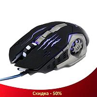 Ігрова мишка GAMING MOUSE X1 - провідна миша з LED з підсвічуванням 4800 dpi (R28), фото 3
