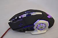 Ігрова мишка GAMING MOUSE X1 - провідна миша з LED з підсвічуванням 4800 dpi (R28), фото 5