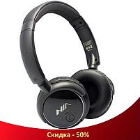 Беспроводные наушники NIA-Q1 4-в-1 - Bluetooth наушники с MP3 плеером, FM радио, гарнитура (R35), фото 2