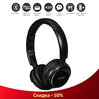 Беспроводные наушники NIA-Q1 4-в-1 - Bluetooth наушники с MP3 плеером, FM радио, гарнитура (R35), фото 3