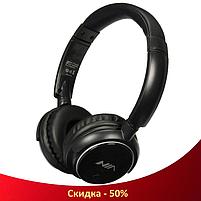Беспроводные наушники NIA-Q1 4-в-1 - Bluetooth наушники с MP3 плеером, FM радио, гарнитура (R35), фото 4