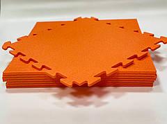 Детский коврик пазл Спорт НХ 10мм 480х480см (оранжевый)