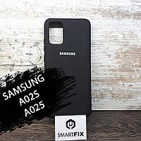 Силіконовий чохол для Samsung A02S/A025 Soft Чорний, фото 1