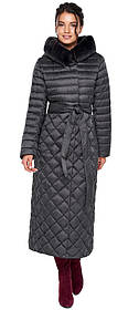 Женская куртка графитовая оригинальная модель 31012