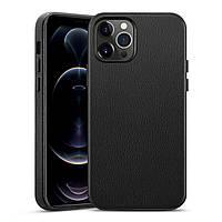 Чохол ESR для iPhone 12 Pro Max Metro Premium Leather, Black (3C01201410201)
