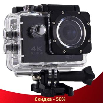 Экшн камера DVR SPORT S2 Wi Fi waterprof 4K - Водонепроницаемая спортивная экшн камера (R327)