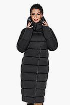 Куртка чорна оригінальна жіноча модель 31028 58 (4XL), фото 3