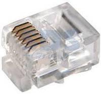 Штекер (джек) телефонный 6P6C 100 штук