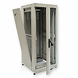 """Шкаф 19 """"28U, 610 х 865 мм (Ш * Г), серый, фото 2"""