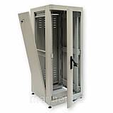 """Шкаф 19 """" 42U ,  610х1055 мм ( Ш * Г ) , серый, фото 2"""