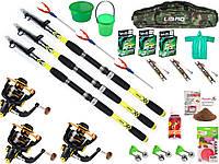 Наборы для рыбалки, ФИДЕР, Готовые наборы для рыбалки, Комплекты рыболовные, подарочные наборы для рыбалки!
