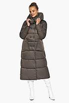 Куртка жіноча з накладними кишенями колір капучіно модель 46150, фото 2