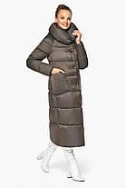 Куртка жіноча з накладними кишенями колір капучіно модель 46150, фото 3