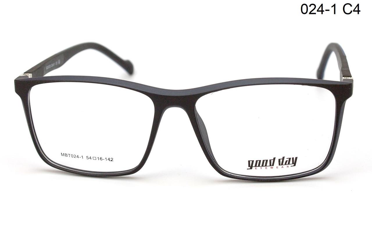 Пластикова оправа для окулярів (можна вставити лінзи)