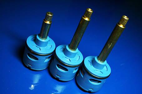 Картридж дивертор в смеситель для душевой кабины на четыре ( 4 ) положения с латунным штоком , фото 2