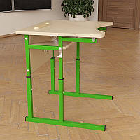 Стол Аудит НУШ регулируемый по высоте и углу наклона столешницы 20×20 в 25×25 одноместный