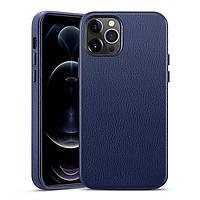 Чехол ESR для iPhone 12 Pro Max Metro Premium Leather, Navy Blue (3C01201410301)