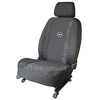 Чехлы на сиденья Opel Astra G/H 2004- / автомобильные чехлы Опел Астра G/H (без строчки)