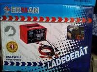 Пуско-зарядний пристрій ERMAN EM-EW215 (пуск 7,4кВт/220А)