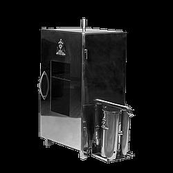 Коптильня для холодного копчення тм Дід Коптенко з нержавійки (66х38х31))
