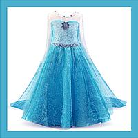 Платье принцессы Эльзы рост 110 см