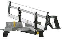 Стусло с ножовкой механическое с металлическим основанием, L-560мм, максимальная высота 95мм STANLEY 1-20-800.