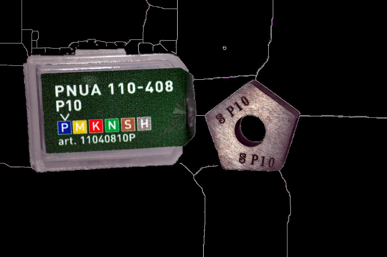 Твердосплавна Пластина п'ятигранна PNUA 110-408 P10 (Т15К6)