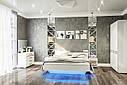 Люстро на стіну з ДСП/МДФ у вітальню спальню 100 Б'янко Світ Меблів, фото 2