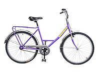 """Велосипед 26"""" УКРАЇНА, модель 39 ХВЗ ліловий (чеська втулка)"""