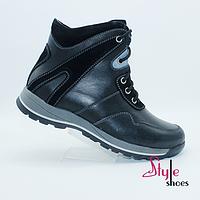 Ботинки подростковые стильные зимние