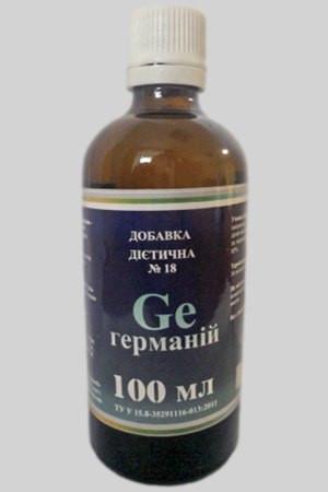 """Добавка диетическая №18 """"Германий"""" (Ge)"""