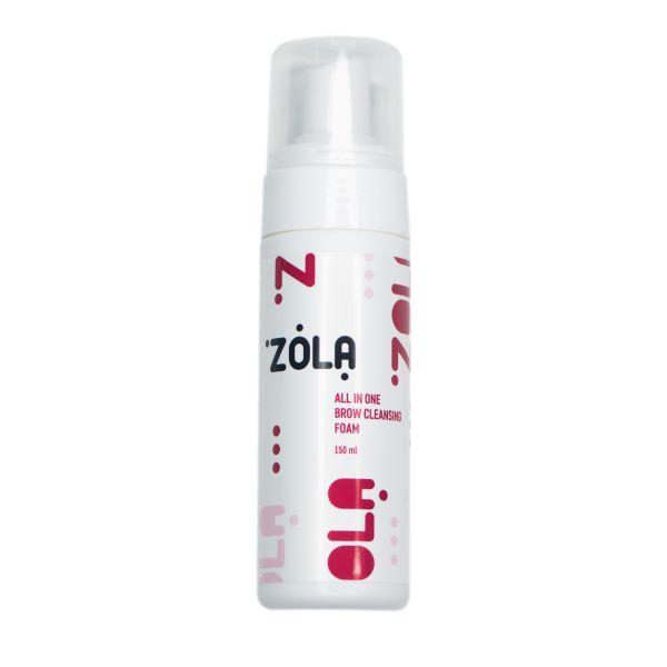 Zola. Пена – шампунь для бровей очищающая, 150 мл.