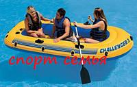 Надувная лодка Challenger 3 Set Intex 68370