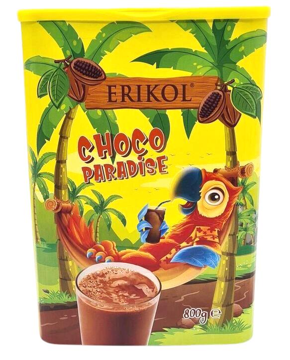 Какао Erikol, 800г, 10 шт/ящ