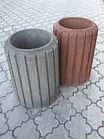 Урна из бетона. Урна с ведром