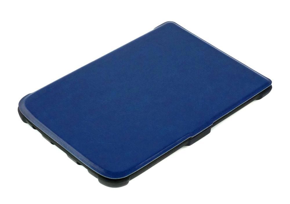 pocketbook 627 чехол синий в закрытом виде
