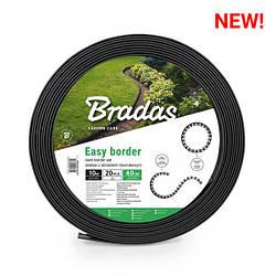 Бордюрный газонный с колышками, EASY BORDER  SET, 40мм, OBEB4010SET
