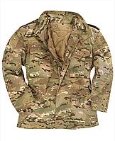 Куртка мужская зимняя с подстежкой М-65 камуфляж мультикам Tesar Германия