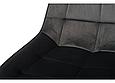 Стілець N-45 сірий вельвет, фото 2