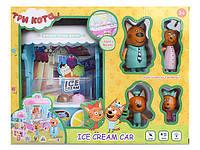 Набор фигурок Три Кота Киоск с мороженым