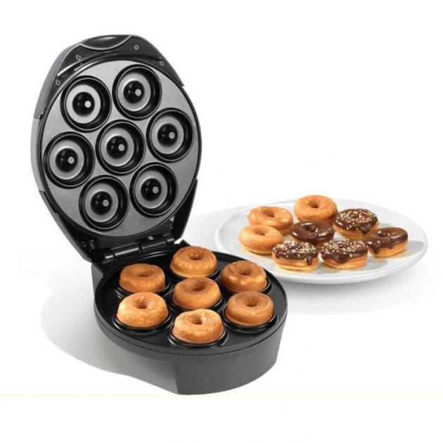 Апарат для приготування пончиків і бісквітів 2 в 1 DSP KC-1103 600 Ватт
