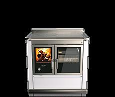 Піч камін з плитою і теплообмінником Rizzoli ST 90