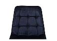 Стілець N-46 чорнильно-синій вельвет, фото 8