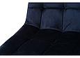 Стілець N-46 чорнильно-синій вельвет, фото 9