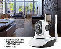 Беспроводная поворотная IP камера, панорамная камера V380 Q5 IP 360 градусов